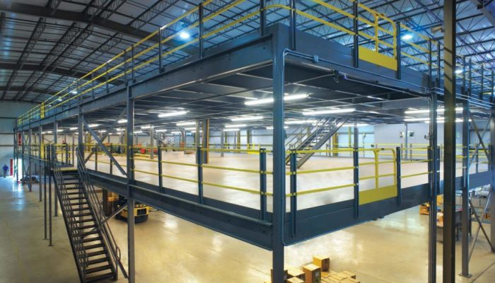What is Mezzanine Flooring made of?
