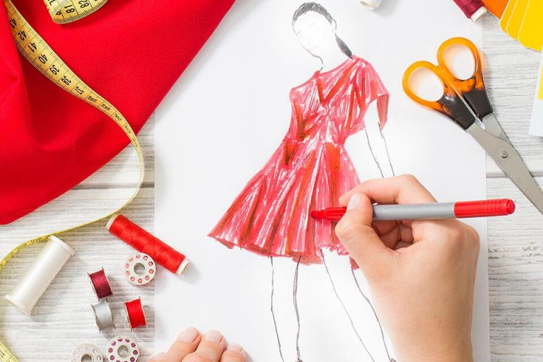 Fashion designing – an art of sparkling impression