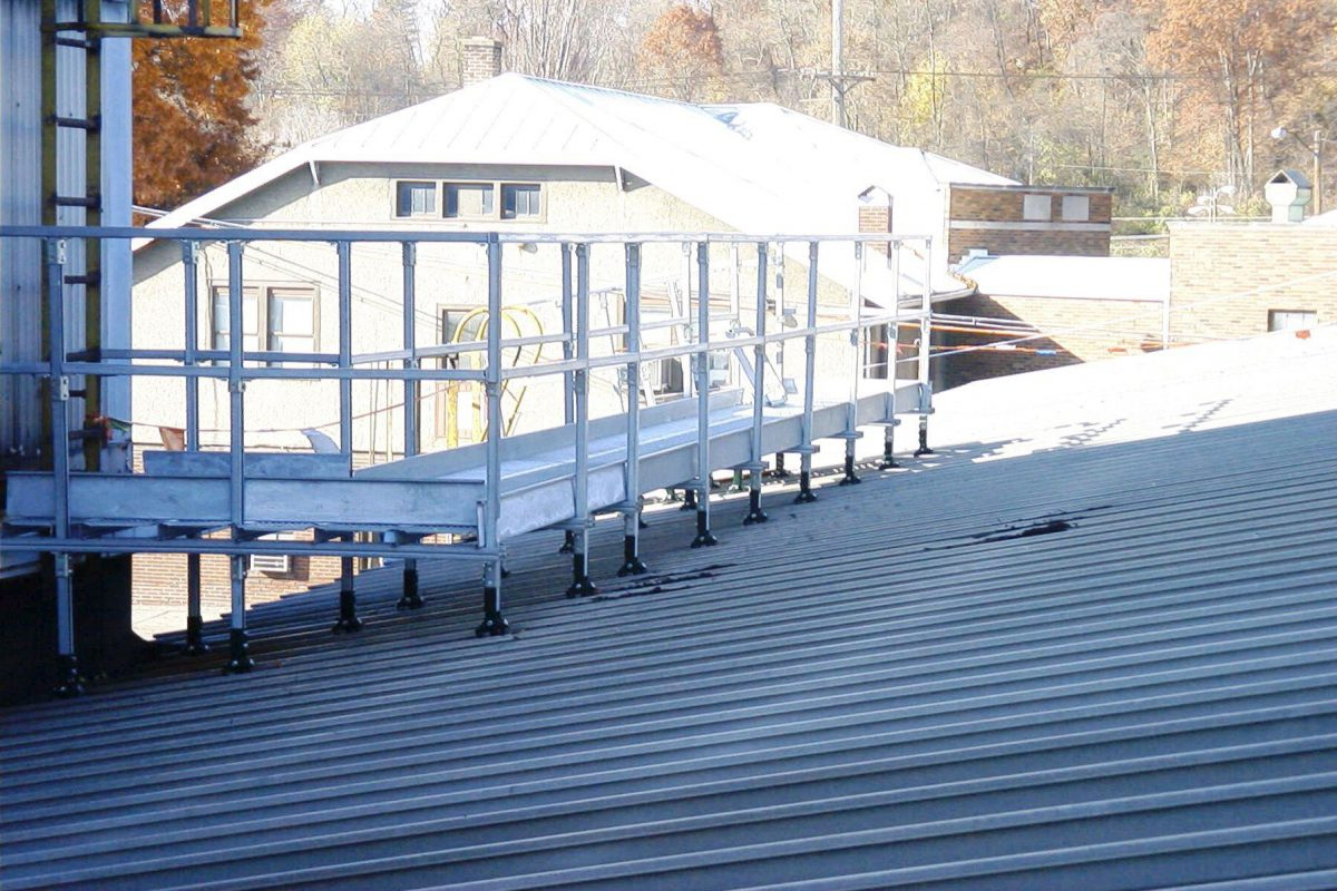 Your Simple Guide To A Roof Walkway System