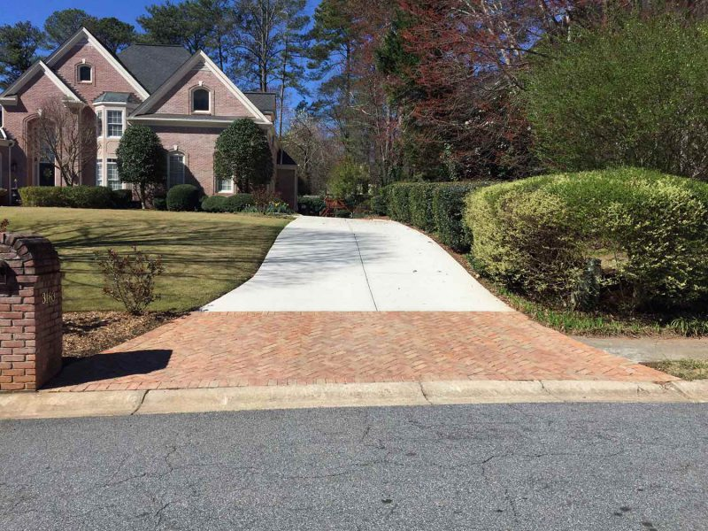 Add Value To Your Home With Colored Concrete Driveway