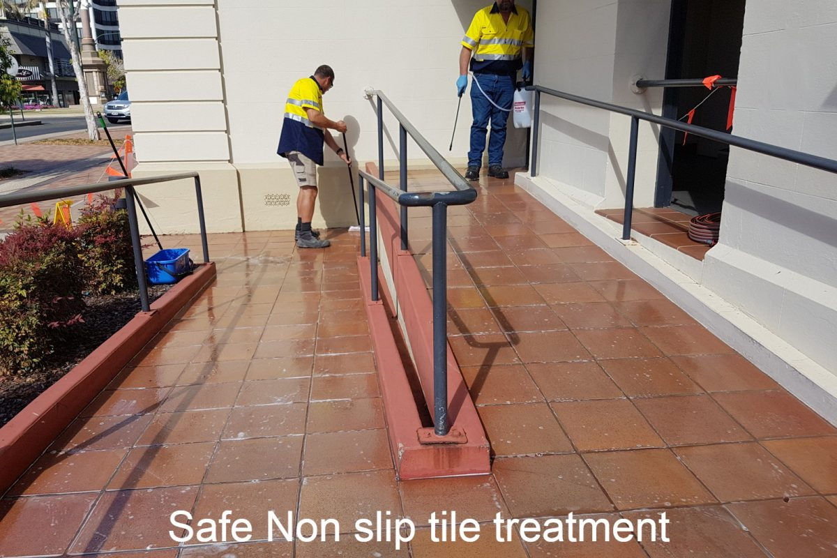 Important Things to Consider while Evaluating a Non Slip Tile Treatment