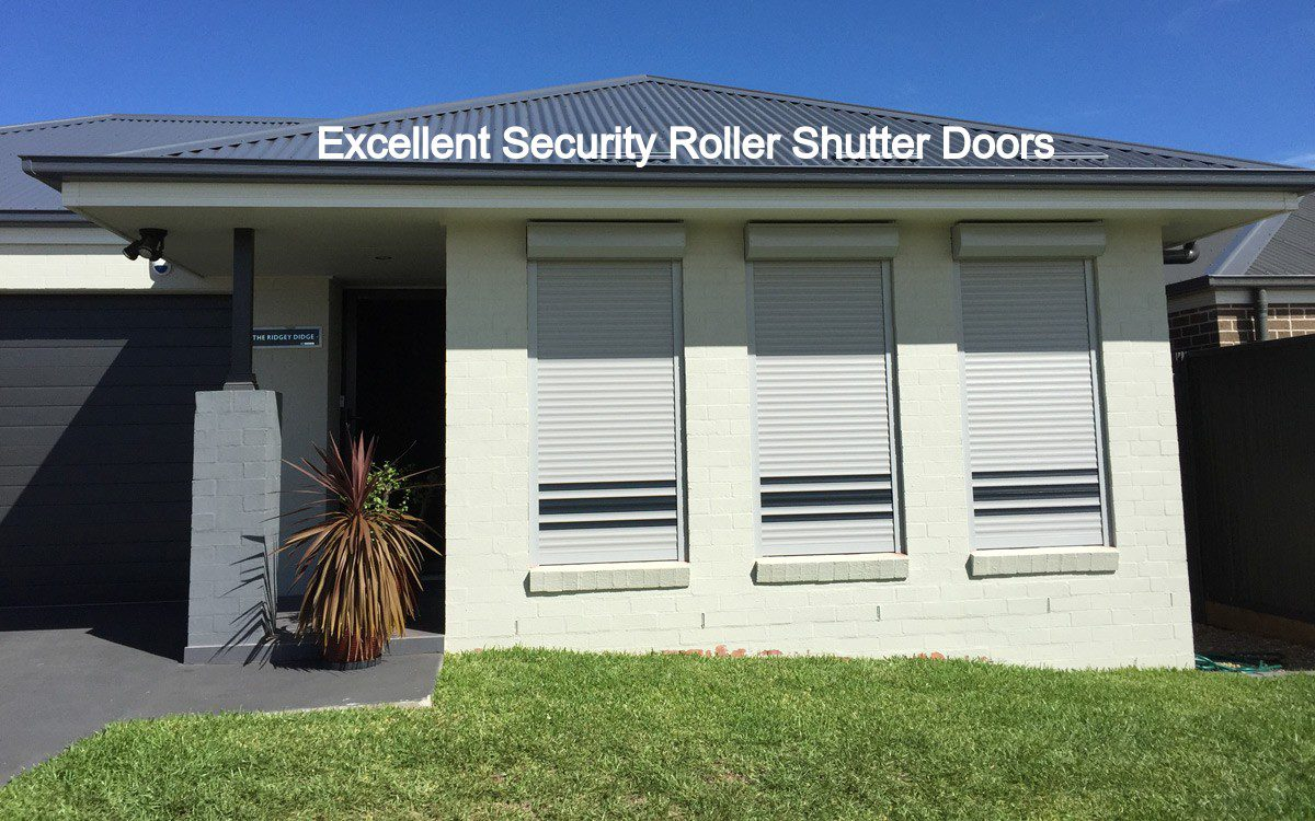 Making The Right Use Of Rollers Shutters for Security
