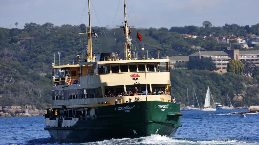 A more relaxed approach to get to Manly Beach is the ferry from Circular Quay, a conventional Sydney experience.