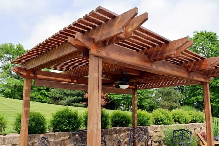 Different Types Modern Designs of Pergolas