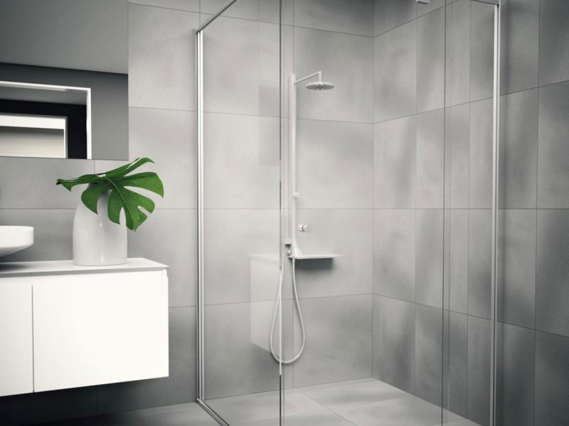 Why Should You Opt For Semi-Frameless Shower Screens?