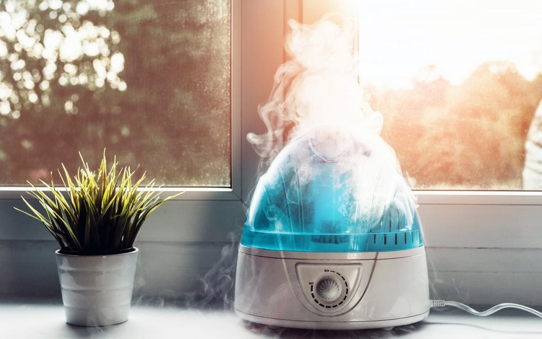 Keep your house free from bacteria with warm/cool humidifier