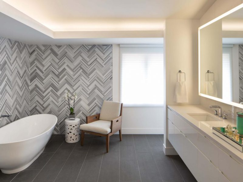 The Latest Tiling Trends For Bathroom Flooring