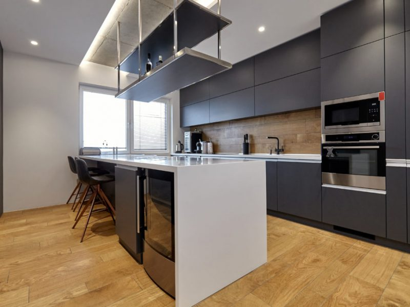 What Are The Benefits Of Flat Pack Laminate Kitchens?