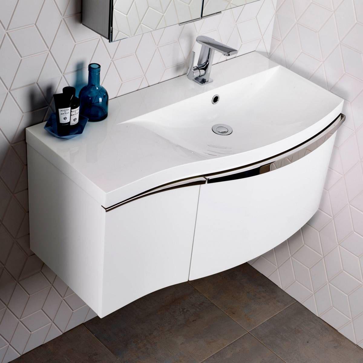 wall mounted vanity units