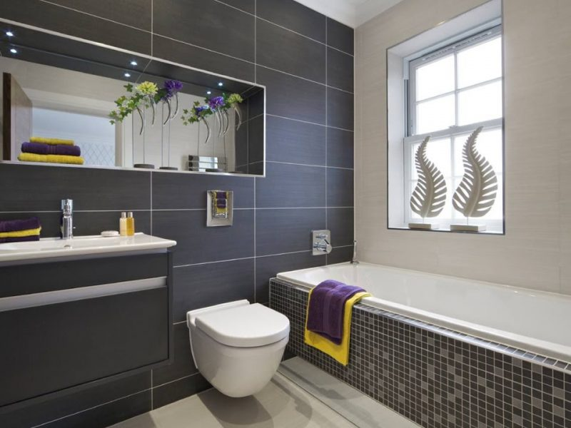 Best Bathroom Walls and Floor Tiles color Ideas