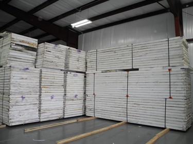 insulated refrigeration panels