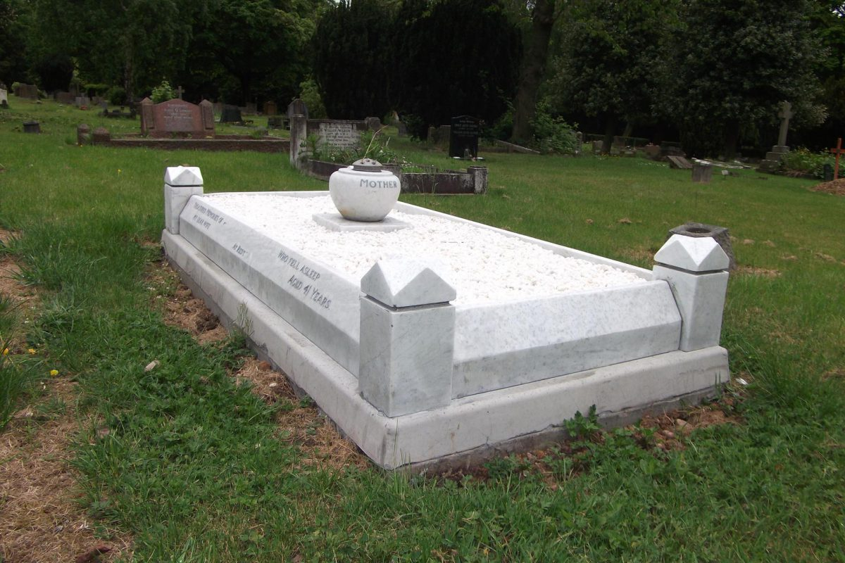 How to fix engraving mistakes on tombstone headstone?