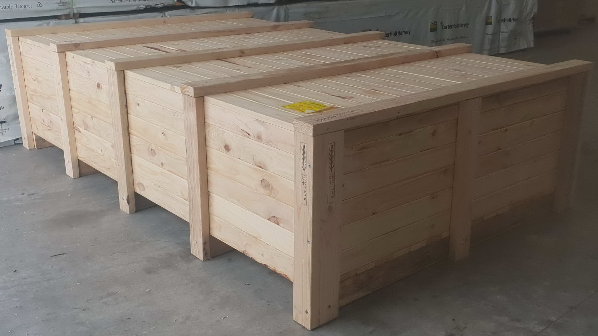 Export And Import Businesses Rely On Wooden Crates Australia For Some Reasons