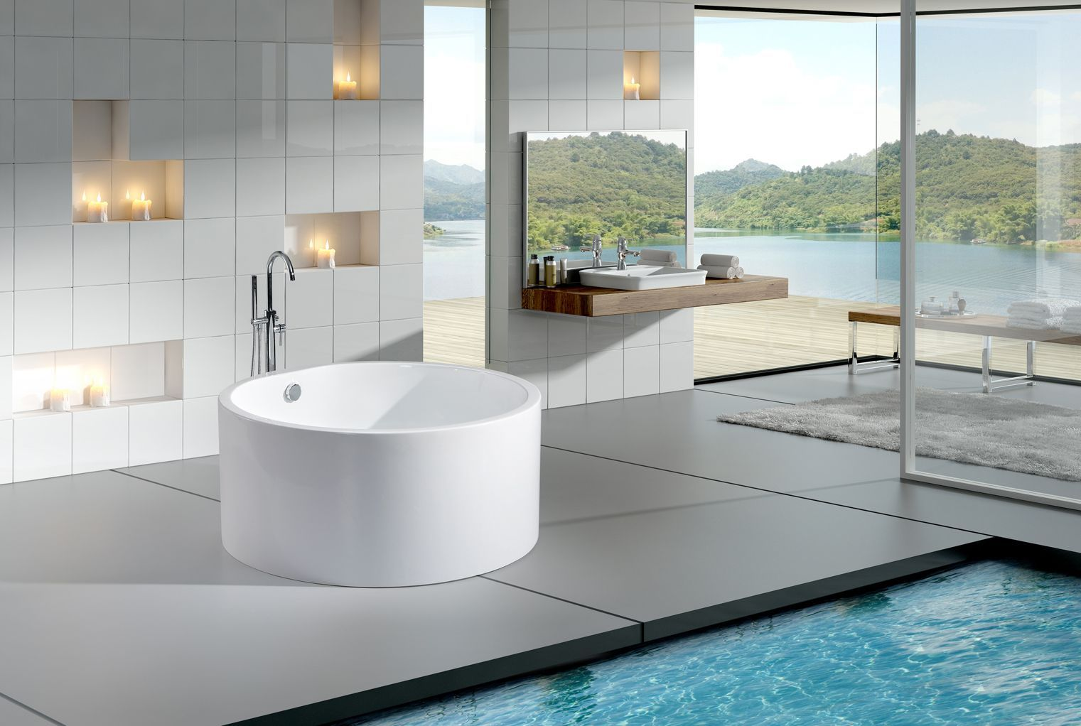 WHY I SHOULD GO WITH ROUND BATHTUB