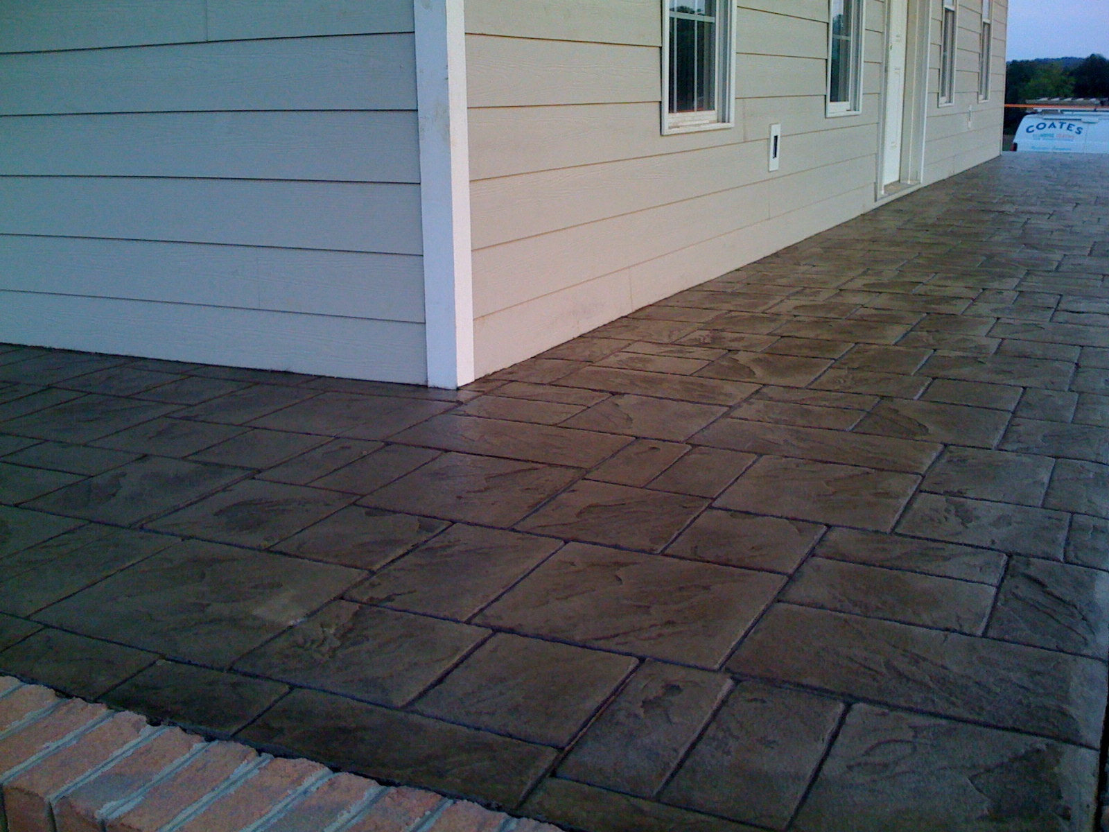 How To Paint Over Stencil Concrete Resurfacing For Transforming Your Outdoor?